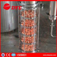 Buy 300 Copper Alcohol Distiller Distillation Equipment for whiskey brandy at wholesale prices