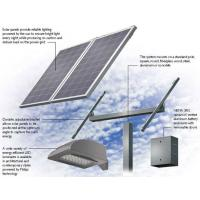 Quality TPT Back Cover Solar Panel Street Lights / Solar Powered Parking Lot Lights for sale