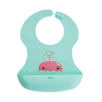 Quality Unisex Baby Weaning Bib , Cool Baby Bibs With Plastic Backing for sale
