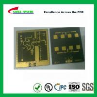 Buy cheap 3 Layer TLY-9+HT1.5 SOFT GOLD Smt PCB Assembly Service with Black Solder from wholesalers