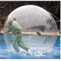 Quality TPU / PVC Walking Human Hamster Ball Inflatable Running Water Bubble Roller for sale