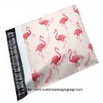 Quality Flamingo Cartoon Plastic Poly Mailer Envelopes Gravure Printing Moisture Proof for sale