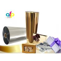Quality Chemically Treated Polyester Metallized Thermal Laminate Film for Offset Printing for sale