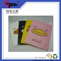 Quality Office & School Supplie Printed PP Stationery Translucent Elastic Closure File Folder for sale