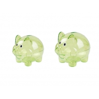 Buy cheap Clear Money Safe Piggy Bank , Colorful Childrens Money Boxes Piggy Banks from wholesalers