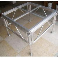 Quality Glass Acrylic Stage Platform / Folding Aluminum Stage Platform for sale