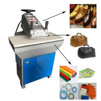 China Hydraulic swing arms cutting press for leather shoes on sale