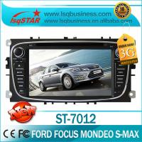 Quality Ford DVD GPS For FORD FOCUS MONDEO S-MAX With  Car Stereo / Bluetooth Driver / Mp3 Player  ST-7012 for sale