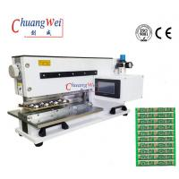 Quality Pneumatically Driven FR4 Pcb Separator, Motorized Pcb Depaneling Machine PCB Cutter for sale