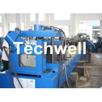 Quality Single Side Auto Adjustable C Purlin Cold Roll Forming Machine TW-C300 for sale