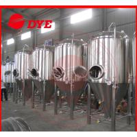 Quality Stainless Steel Conical Beer Fermenter 50Mm - 80Mm Insulation for sale