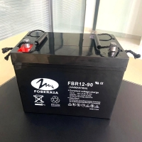 Quality 12V90Ah 27A Deep Cycle Lead Acid Battery Low Discharge Rate For Solar Energy System for sale