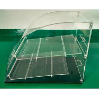 China Counter top acrylic bakery display case on sale