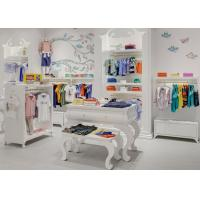 Quality Kids Shop Display Furniture / Retail Apparel Fixtures Lovely Elegant Style for sale