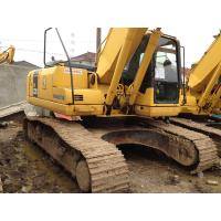 Buy cheap Japanese Used Crawler Excavator 3300hrs , Used Excavating Equipment Komatsu from wholesalers