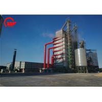 Quality Small Footprint Mechanical Corn Dryer , Heat Recycling Agricultural Dryer Machine for sale