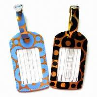 Quality Plastic Luggage Tags with Personal Decorations and Nominal Quotation for sale