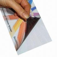 Buy cheap One Way Vision Window Sign Film, Bubble-free Vinyl for Vehicle Wrapping and from wholesalers