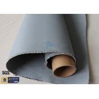 Quality Grey Silicone Coated Fiberglass Fabric 1600GSM 47OZ Heavy Duty Welding Blanket for sale