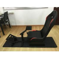Quality Customized Foldable Sport Racing Seats For Video Games PVC Material for sale