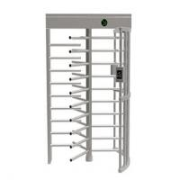 Quality Semi Automatic Controlled Access Turnstiles , Low Noise Security Turnstile Gate for sale
