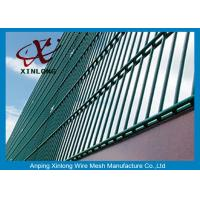 Buy cheap RAL Colors Galvanized Double Wire Fence for Airport and Power Station from wholesalers