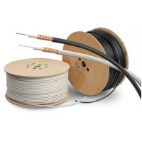 Quality PVC Sheath Copper Coaxial Cable RG59/U Type Cctv Coaxial Cable PE Dielectric for sale