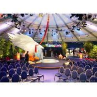 Quality Aluminum Commercial  Party Tent  Wind - Resistant With Beautiful Decoration for sale