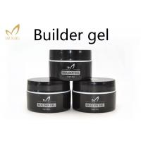 Buy cheap Private Label UV Nail Builder Gel Clear , Hard Nail Extension Soak Off Jelly Gel from wholesalers