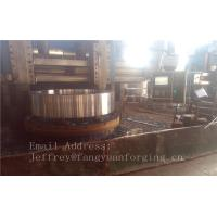 Quality 4140 42CrMo4 Rolled Forged Steel Rings Q+T High Hardness For Concrete Mixer Truck for sale