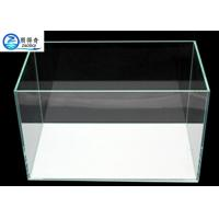 Quality 3mm - 19mm Custom Fish Tanks , Tranparent Glass Aquarium Fish Tank for sale