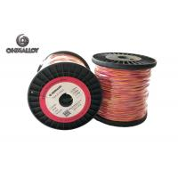 Quality Fiberglass Insulation Thermocouple Cable Type K 100 M Extension Class I for sale