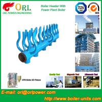 Quality Power Station Boiler Header Manifolds Oil Fired Boiler Unit TUV Certification for sale