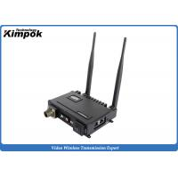 Quality 2x2 MIMO Mobile IP MESH Video Voice Data Network Wireless Communication Systems for IP Camera for sale
