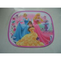 Quality Disney Laterial Car Sunshade with heat transfer logo printing for sale