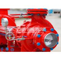 Quality NFPA20 UL Listed 200gpm Electric Fire Water Pump Set , Single Stage Fire Fighter Pumps 105-130PSI for sale