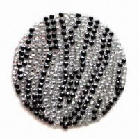Quality Rhinestone 3D sticker for mobile phone decoration for sale