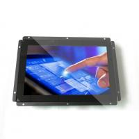 China 12.1 Sunlight Readable LCD Monitor with capacitive touch true flat zero bezel on sale
