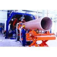 Quality CFW 300-2600 Continuous GRP pipe winding production line for sale