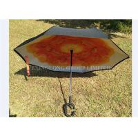 Quality Easy Carry Reversible Rain Umbrella , As Seen On Tv Umbrella That Opens Backwards for sale