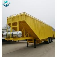China Luyi brand 3 axle Grain Dump Tipper Truck grain trailers for sale on sale