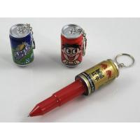 Quality Novelty Popcan Pen / Retractable Can Pen for sale