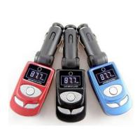 Quality LCD display instructions car mp3 player fm transmitter support USB BT-C244 for sale