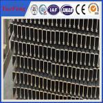 Quality industrial aluminium profile price per tons, 6063 china profiles aluminum extrusion for sale