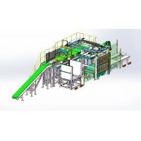 Quality High Level Palletizer with Automatic Palletizer Machine for 25kg-50kg Bag Type Products for sale