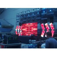 Quality Light weight Seamless Outdoor Rental LED Display With Detection Button Noiseless for sale