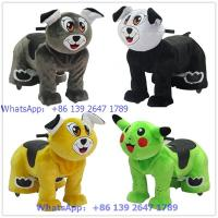 Buy Popular in the kids park catoon animal plush stuffed unique ride on toys at wholesale prices