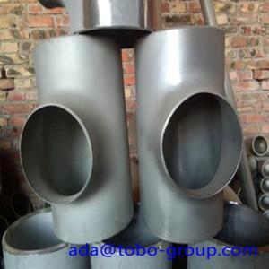Buy Sus304 304L 316 316L Stainless Steel Tee , 1-48 inch steel pipe tee at wholesale prices