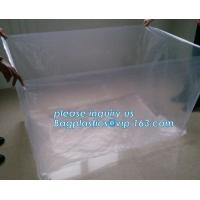 China 48 x 48 x 96 1 Mil ldpe Clear Pallet Covers, Eco-friendly Reusable Pallet Wrap Pallet Cover, Disposable CPE Waterproof on sale