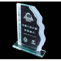 Quality acrylic trophy,clear acrylic trophy,acrylic trophy block for sale